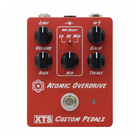 Fact Tone Solutions - Atomic Overdrive - Front