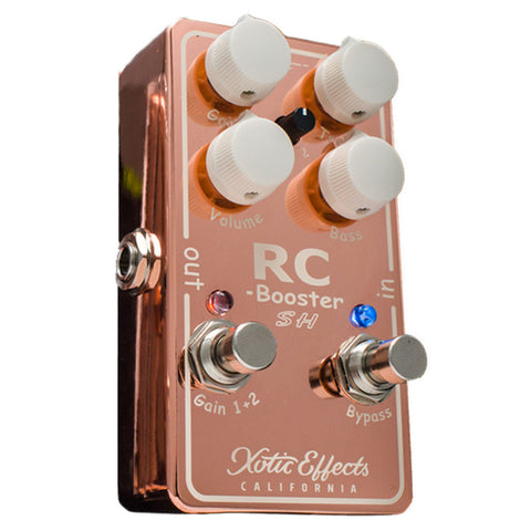 Xotic Scott Henderson Copper RC Booster Pedal