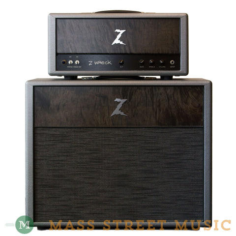 Dr. Z Amps - Z Wreck Head and 2x12 Cabinet Silver