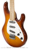 Ernie Ball Music Man Silhouette Burst - front angle