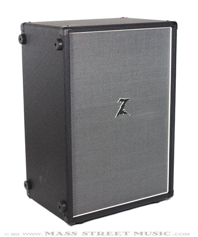 Dr. Z Z Best Amp - 212 cab Salt and Pepper grill - angle