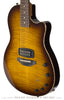 Tom Anderson Crowdster Plus, Tobacco Burst - front angle
