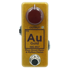 Mythos Pedals - Au79 Golden Fleece Fuzz - Mass Street Music Edition