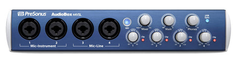 PreSonus AudioBox 44VSL Recording System - front