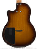 Tom Anderson Crowdster Plus, Tobacco Burst - back close up