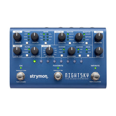Strymon Effect Pedals - NightSky - Time-Warped Reverberator
