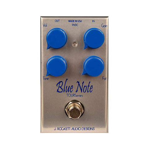 Rockett Pedals - Blue Note Overdrive tour series