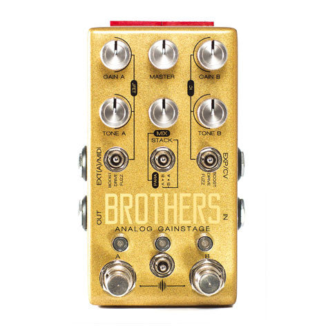 Chase Bliss Audio -  Brothers Analog Gainstage - Front