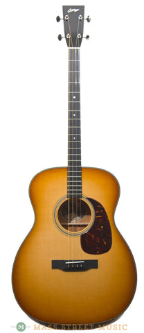 collings T1 SB tenor guitar western shaded burst - front