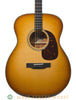 collings T1 SB tenor guitar western shaded burst - front close up