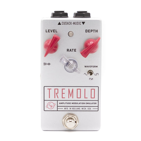 Cusack Effects - Tremolo AME Silver