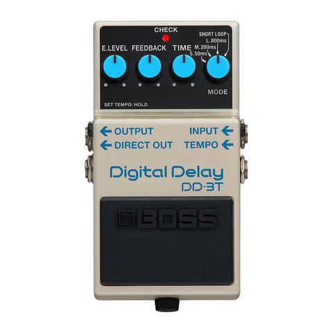 BOSS Effect Pedals - DD-3T Digital Delay - Tap Tempo