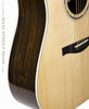 Eastman AC420 acoustic dread guitar - binding detail