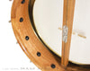 "Chuck Lee Dobson Open Back 11"" Banjo - details"
