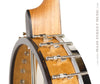 Ome Juniper 12 inch open back banjo - heel from side