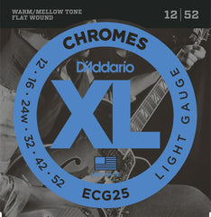 D'Addario Chromes ECG25 Jazz light Electric Strings