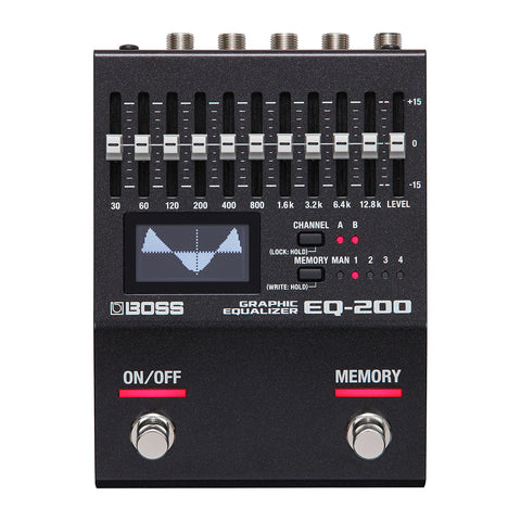 BOSS Effect Pedals - EQ-200 Equalizer