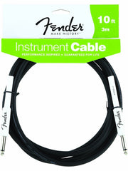 Fender 10' Black Instrument Cable