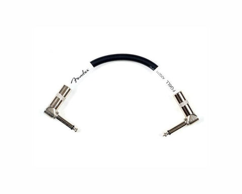 "Fender 6"" Black Patch Instrument Cable"