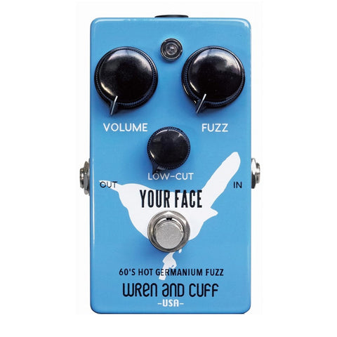 Wren and Cuff Effect Pedals - Your Face 60s Fuzz