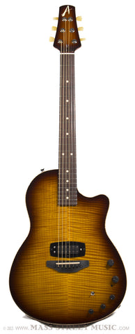 Tom Anderson Crowdster Plus, Tobacco Burst - front