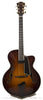 2007 Eastman AR805ce burst finish archtop guitar - front