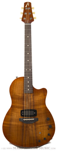 Anderson Guitars Crowdster Plus Koa Electric - front