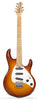 Ernie Ball Music Man Silhouette Burst - front