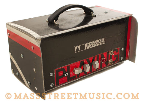 Analog Outfitters Road Amp Head - front angle