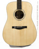Eastman AC420 acoustic dread guitar - front close up view