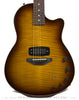 Tom Anderson Crowdster Plus, Tobacco Burst - front close up