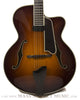 2007 Eastman AR805ce burst finish archtop guitar - front close up
