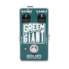 Greer Amps - Green Giant Fuzz - Front
