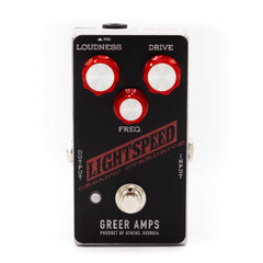 Greer Amps - Lightspeed Organic Overdrive Black and Red