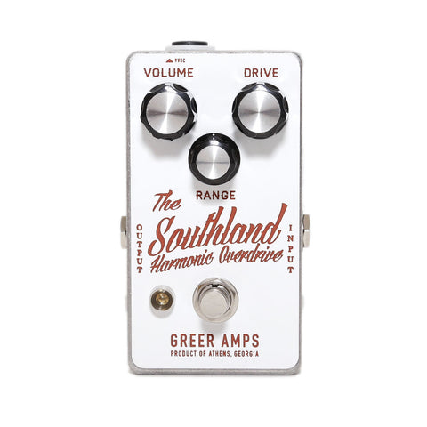 Greer Amps - Southland Harmonic Overdrive - Stock