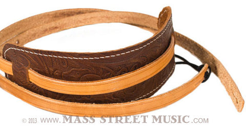 Leather Aces - Leather Mandolin Strap