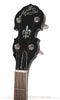 The Maestro MaestroTone Resonator Banjo- front headstock