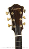 2007 Eastman AR805ce burst finish archtop guitar - front headstock