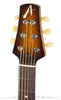 Tom Anderson Crowdster Plus, Tobacco Burst - front headstock