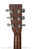 Martin D-28 Custom - Adirondack top - back of headstock