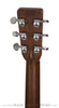 1966 Martin D-28 acoustic guitar -back of headstock