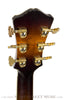 2007 Eastman AR805ce burst finish archtop guitar - back of headstock