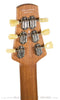 Tom Anderson Crowdster Plus, Tobacco Burst - back headstock