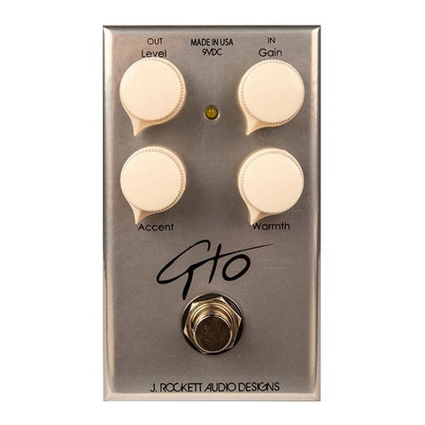 Rockett Pedals - GTO Overdrive Front