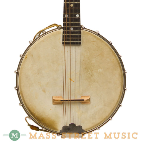 Gibson - MB Mandolin Banjo Banjolin w/ Trap Door Used - Front Close
