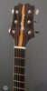 McKnight Guitars - 2005 OM-D Used - Headstock