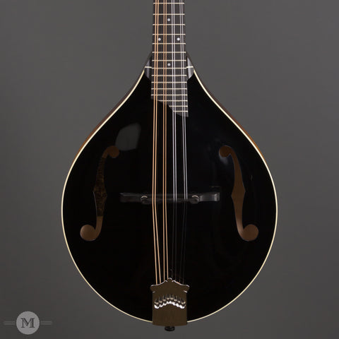 Collings Mandolins - MT GT - Black Top - Front Close
