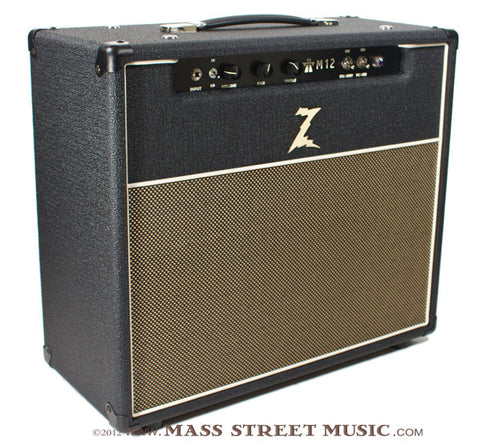 dr z m12 112 combo amp mass street music store. Black Bedroom Furniture Sets. Home Design Ideas