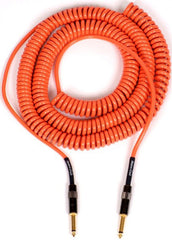 Lava 20' Orange Retro Coil Cable