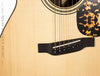 Leo Posch MGA-RW Acoustic guitar - bridge close